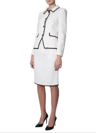 Шерстяная юбка moschino