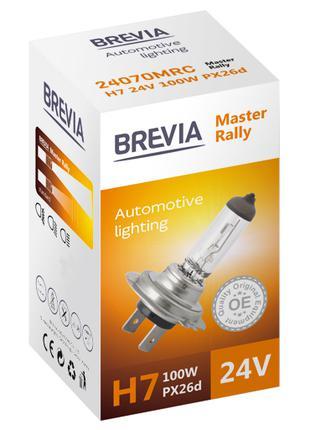 Галогеновая лампа Brevia H7 Master Rally 24v/100w