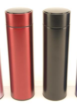 Умный термос с датчиком индикатором температуры 500 мл