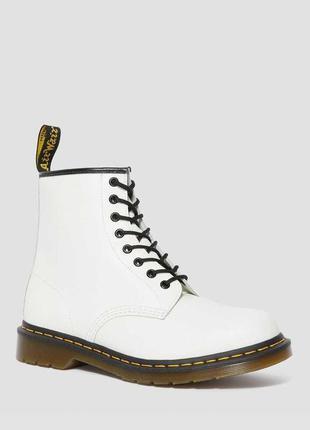 Черевики dr. martens 1460 білі smooth leather original