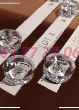 Светодиоды LED планки LGIT A B подсветка LG DRT 3.0 32 39 42 4...