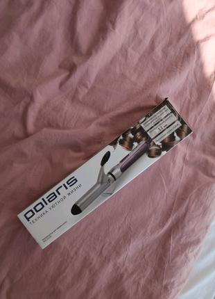Электрощипцы для завивки волос плойка polaris