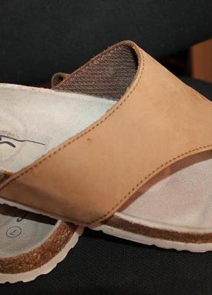 Шлепки-сандали sf кожа нубук р.41