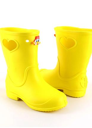 Сапожки из пены ЭВА для дождика. Украинский крокс.