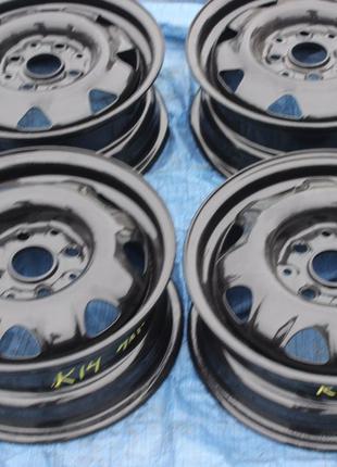 Стальные диски R14 4*108 из Германии в идеальном состоянии