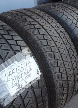 255-55-R18 MICHELIN ALPIN зимние шины= выбор зимней резины GER...