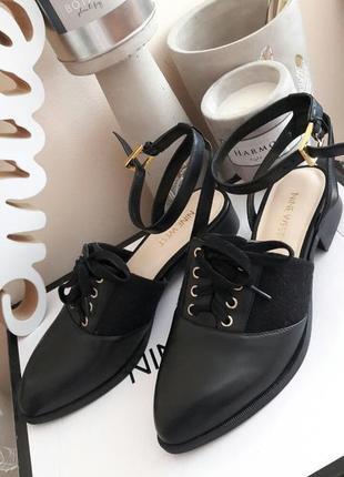 Стильный туфли лодочки лоферы nine west