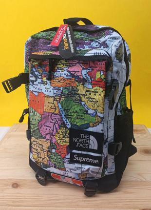 Рюкзак tnf x supreme map
