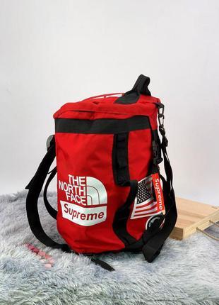 Рюкзак - спортивна сумка tnf x supreme
