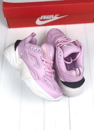 Кроссовки nike m2k tekno pink&white