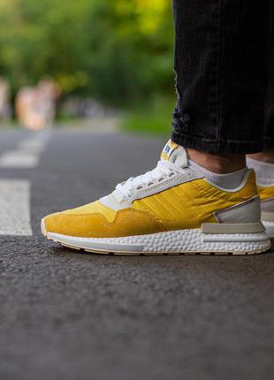Кроссовки adidas zx 500 blood gold