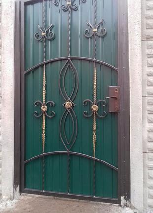 Забор, перила,оградки, ворота, калитки