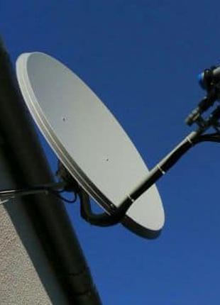 Установка, ремонт спутниковых антенн