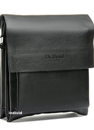 Акция! деловая мужская сумка-планшет dr.bond. выбор. кожаная с...