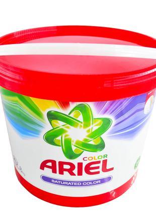 Сипучий порошок в відрі Ariel Color 8kg (100 прань)