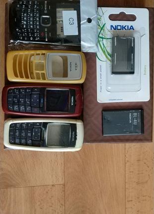 Nokia 2600/2100/C3