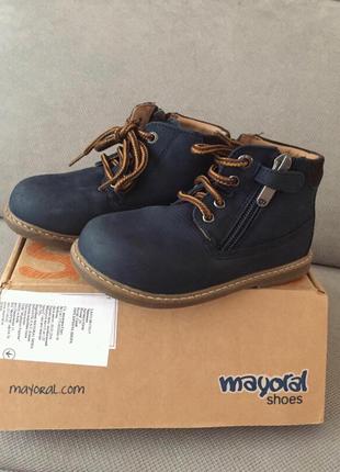 Ботинки демисезонные Mayoral 25 размер