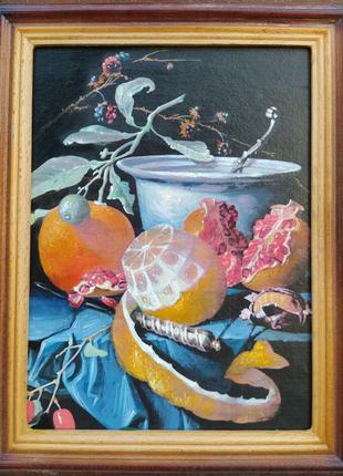 Натюрморт маслом Голландский живопись Копия Репродукция