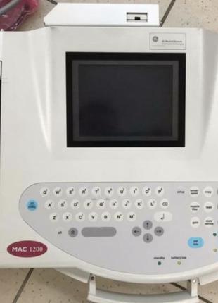 Електрокардіограф MAC® 1200 ST портативний, 12 канальний(Америка)
