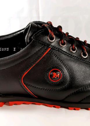<<Кожаные кроссовки MIDA, спорт-комфорт. 43,44,45.