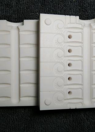 Форма для литья силиконовых приманок.