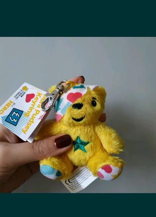 Красивый брелок игрушка мишка жёлтый bbc