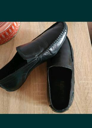 Туфли кожаные на мальчика 35 размер
