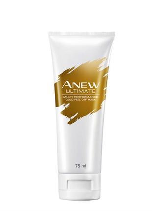 "Anew avon  маска-пленка для лица ""пилинг и сияние"" 45+"