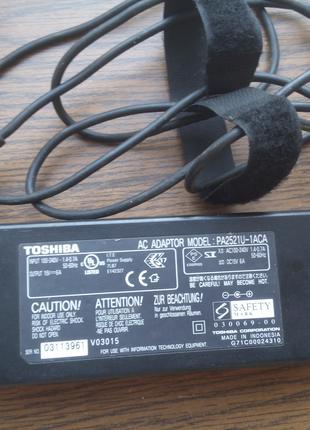 Зарядное блок питания для ноутбука Toshiba 15V 6A