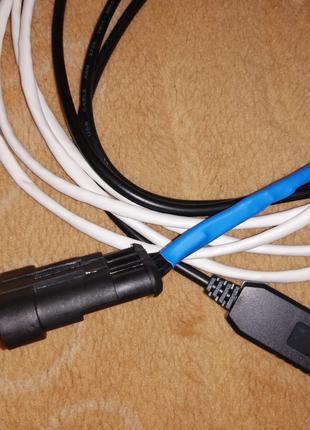 USB кабель ГБО ZENIT шнурок Compact