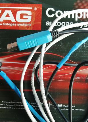 USB кабель ГБО STAG 4 шнурок