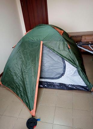 Отличная двухместная палатка для похода