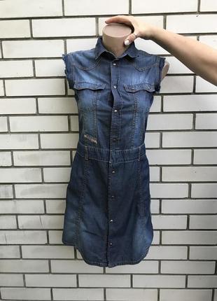 Винтаж,джинсовое,тонкое платье-халат,оригинал,diesel,хлопок,ма...