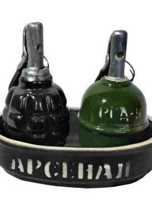 Набор для специй гранаты ргд-5 ф-1 военному содату камуфляж 9 мая