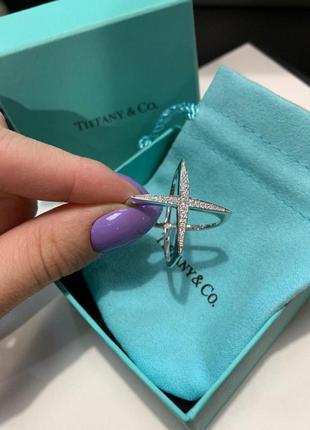 Эффектное кольцо в стиле tiffany & co😍💖