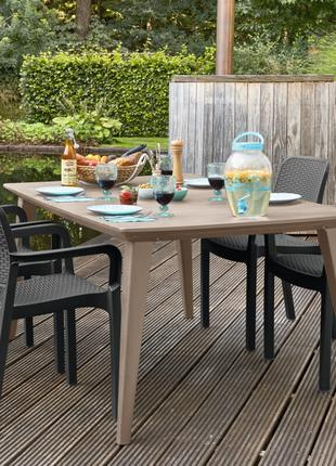 Комплект садовой мебели Keter Samanna Lima Dining Set