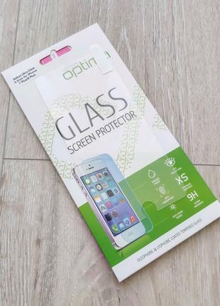 IPhone 7 Plus 8 Plus защитное стекло 2.5d optima gelius