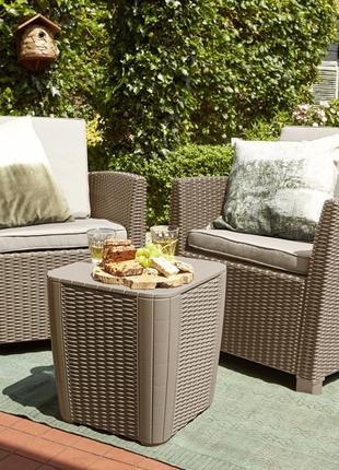 Комплект садовой мебели Allibert Corona Balcony Set