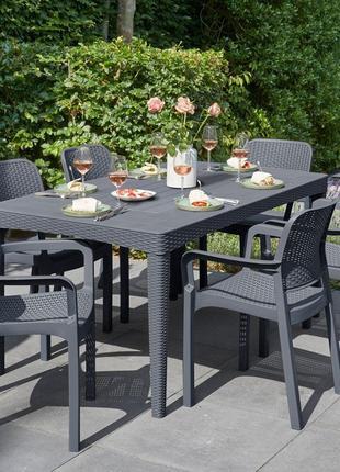 Комплект садовой мебели Allibert Keter Girona Samanna Garden Set