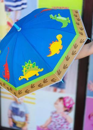 """Зонтик """"дино"""" для мальчика 2-6 лет"""