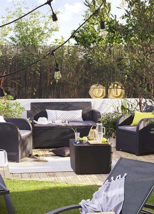 Комплект садовой мебели Allibert Georgia Luzon Lounge Set