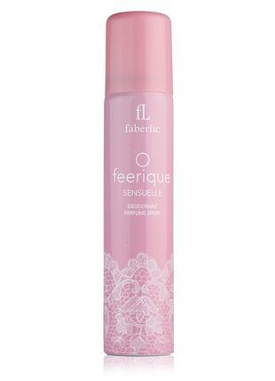 Парфюмированный дезодорант для женщин O Feerique Sensuelle