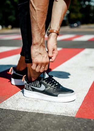 Nike air force 1 low lv8 2 black/grey