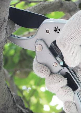 Секаторы, садовые ножницы с храповым механизмом