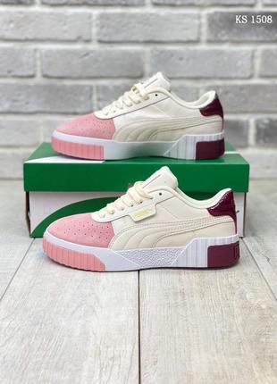 Puma Cali (бежево/розовые)
