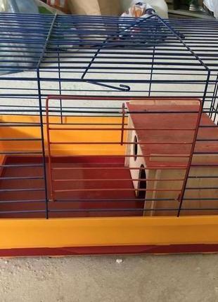 Средняя клетка для грызунов ( мелкие хомяки, крыски)