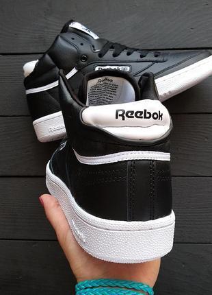 Reebok club c 85 mid black