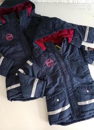 Фирменная непромокаемая куртка евро зима от немецкого бренда p...