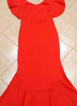 Sale! акция! 1+1=3🔥🔥шикарное вечернее платье рыбка,  с перепле...
