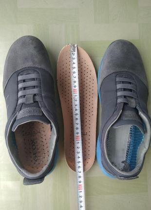 26.5см 41.5 роз кросівки (кежуал туфлі) g.e.o.x. 265mm 260mm